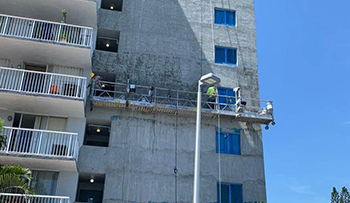 concrete restoration and waterproofing